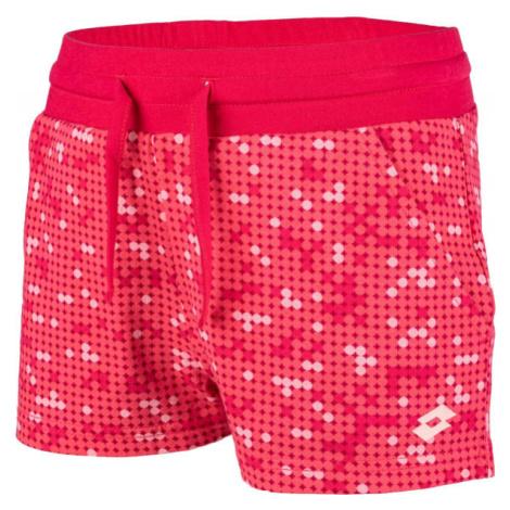Lotto MULIAN oranžová - Dievčenské šortky