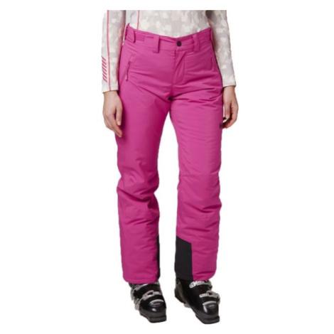 Helly Hansen SNOWSTAR PANT W ružová - Dámske lyžiarske nohavice