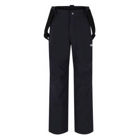 Loap LEWRY čierna - Detské softshellové nohavice