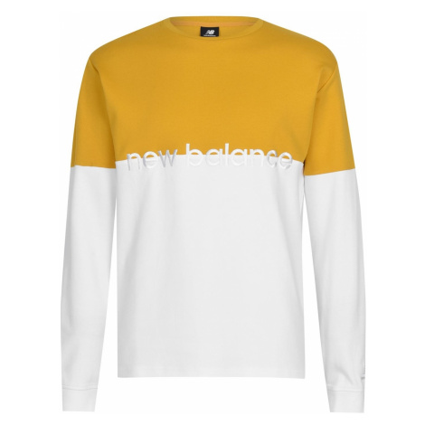 New Balance Athletic Stripe Long Sleeve T Shirt Mens