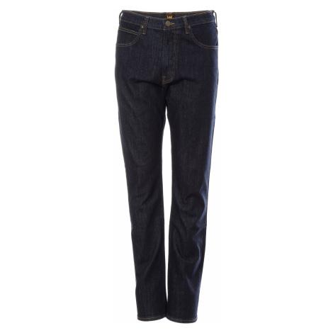 Lee jeans Brooklyn Straight Rinse pánske tmavo modré