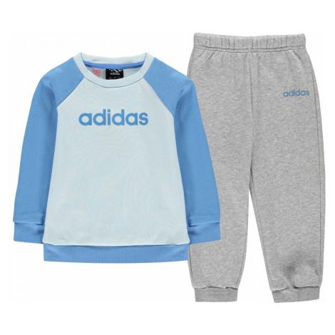 Adidas FZ Crw JogSetInB02 Lucky Blue