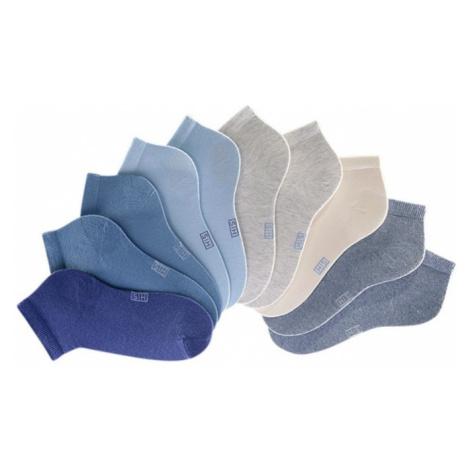 H.I.S Ponožky  modrá / sivá / béžová