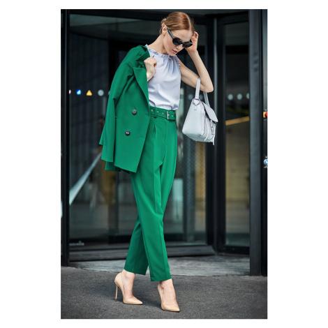 Zelené nohavice S124