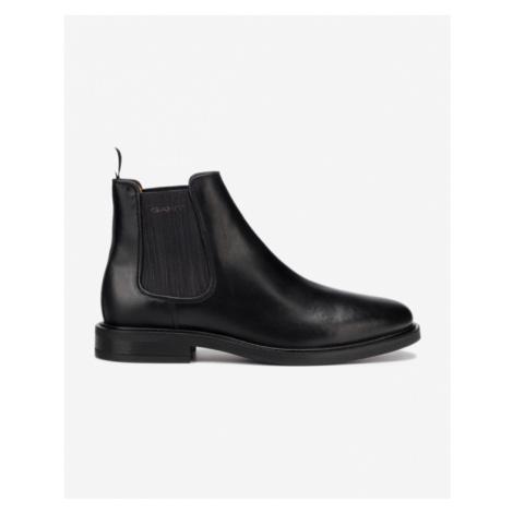 čierne pánske chelsea boots
