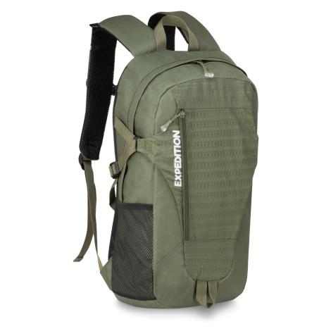 Semiline Unisex's Trekking Backpack A3004-6 Khaki