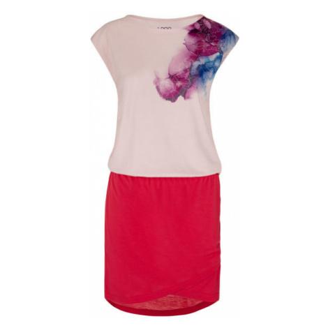Loap ALGERA ružová - Dámske športové šaty