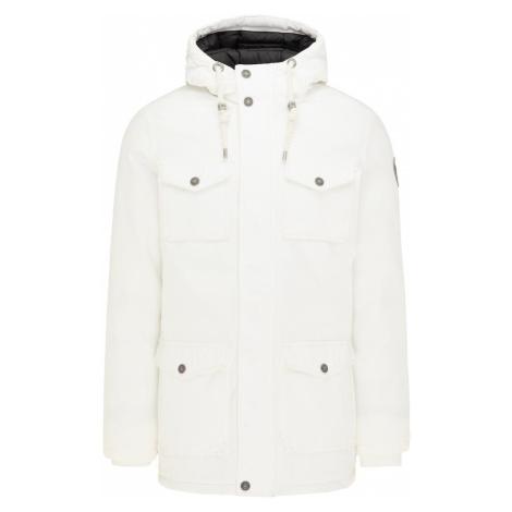 MO Zimná bunda  prírodná biela / čierna