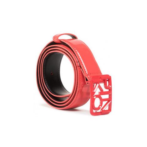 Pinko Dámsky opasok Fischio Small 1 Belt Al 20-21 PLT01 1H20S2 Y6ER Červená
