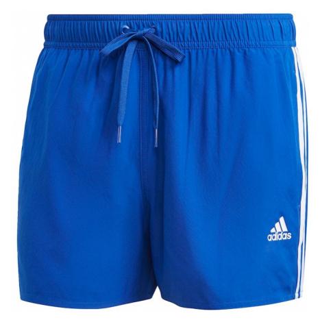 ADIDAS PERFORMANCE Športové plavky - spodný diel  biela / modrá