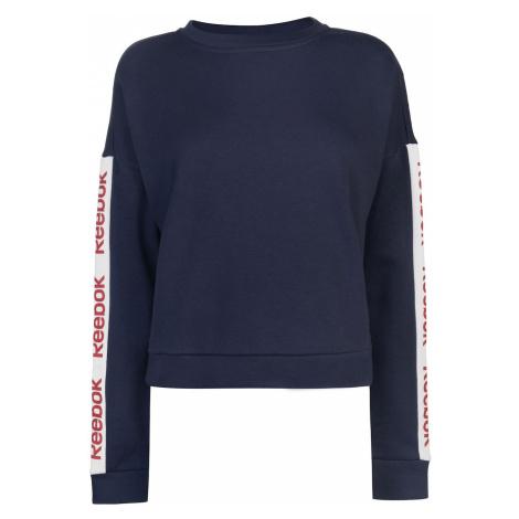 Reebok Linear Crew Neck Sweatshirt Ladies
