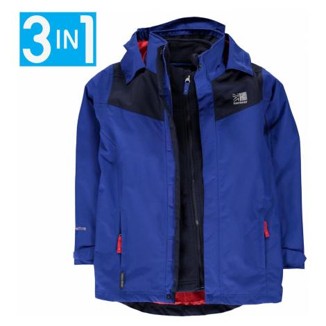 Karrimor Charcoal 3in1 Jacket Junior Surf Blue