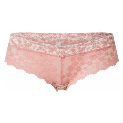 ESPRIT Nohavičky 'DACKOTA'  ružová / biela / sivá