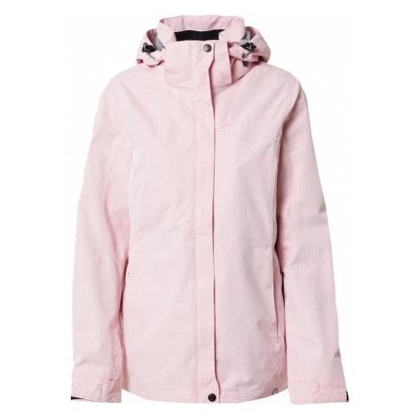 KILLTEC Outdoorová bunda 'Inkele'  ružová / biela