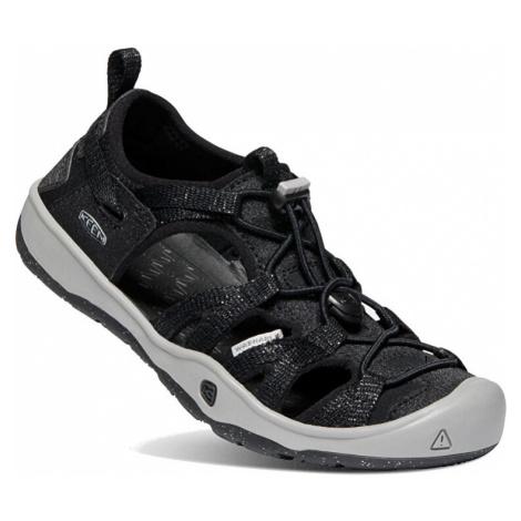KEEN Detské sandále MOXIE SANDAL JUNIOR black / Drizzle