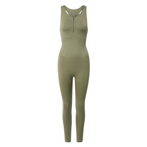NU-IN ACTIVE Športový úbor 'Bodysuit'  olivová
