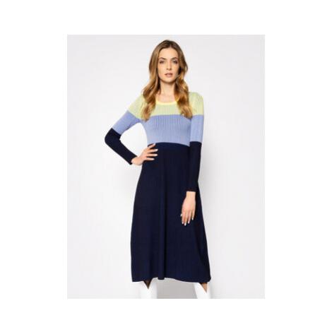Sportmax Code Úpletové šaty Agnese 73210202 Farebná Slim Fit
