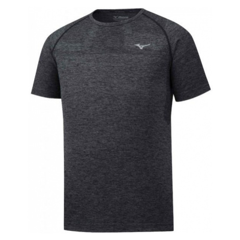 Mizuno HELIX SEAMLESS TEE čierna - Pánske bežecké tričko