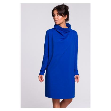 Modré šaty B132