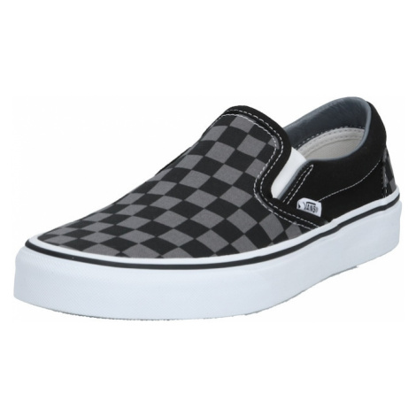 VANS Slip-on obuv  sivá / čierna / biela