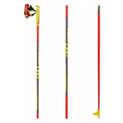 Karbónové bežecké palice LEKI PRC 700 Čierno-červená