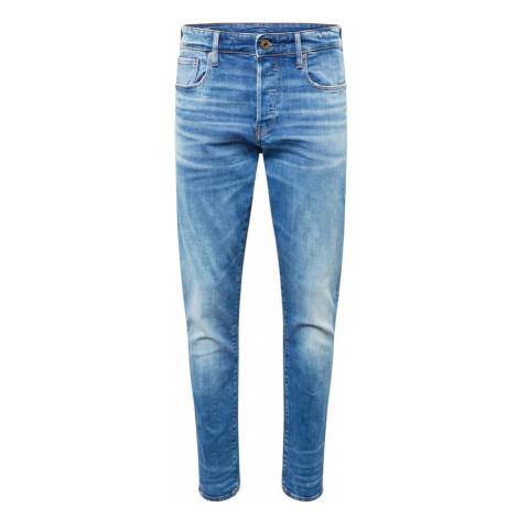 G-Star RAW Džínsy '3301 Tapered'  modrá denim