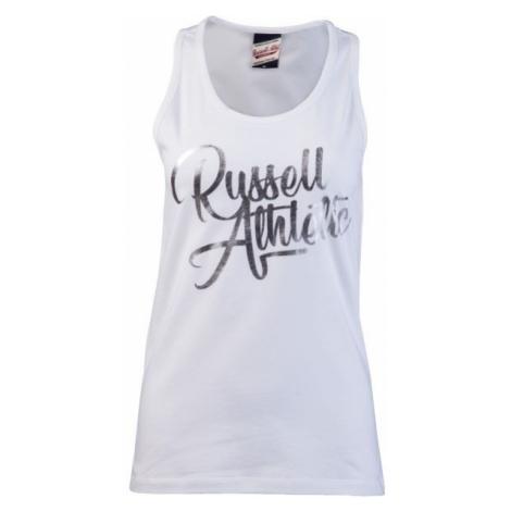 Russell Athletic SCRIPT SINGLET biela - Dámske tielko