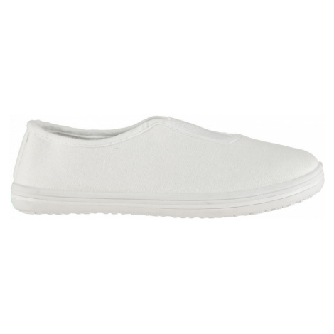 Slazenger Canvas Slip On Infant Shoes bílá