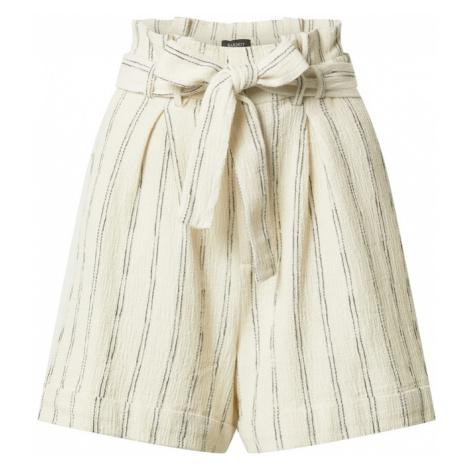 Bardot Plisované nohavice  biela / sivá