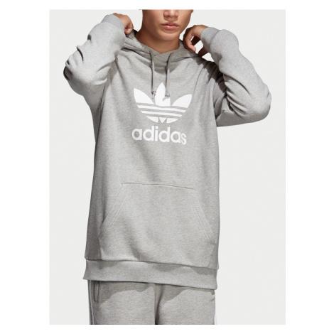 Trefoil Mikina adidas Originals Šedá
