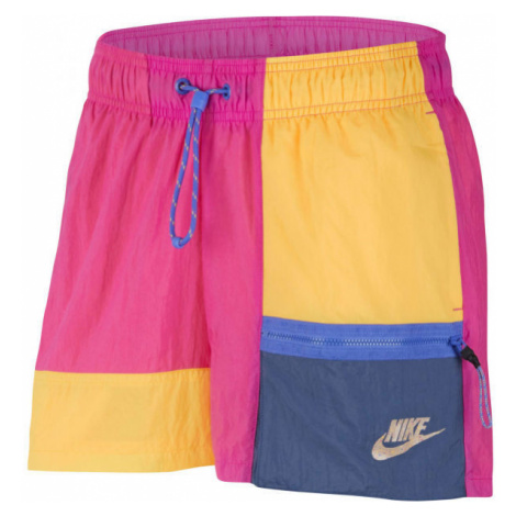 Nike SPORTSWEAR ružová - Dámske šortky