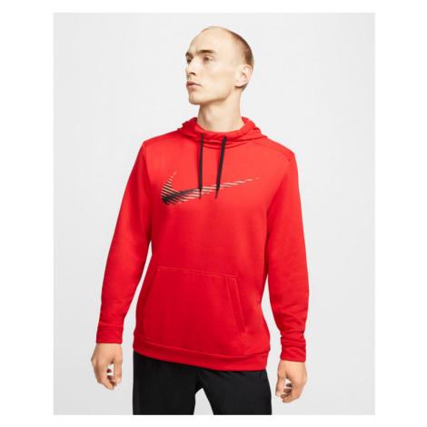 Nike Dri-FIT Mikina Červená