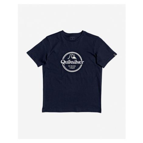Quiksilver Words Remain Tričko detské Modrá
