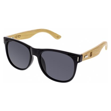 Slnečné okuliare Platan čierne sklá