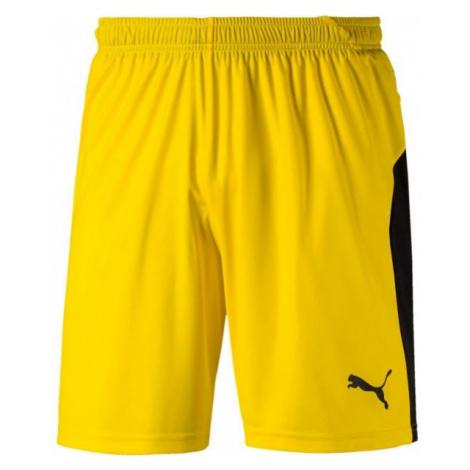Puma LIGA SHORTS žltá - Pánske šortky