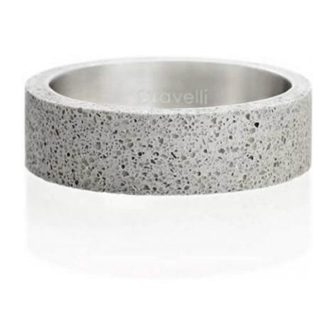 Gravelli Betónový prsteň šedý Simple GJRUSSG001 mm