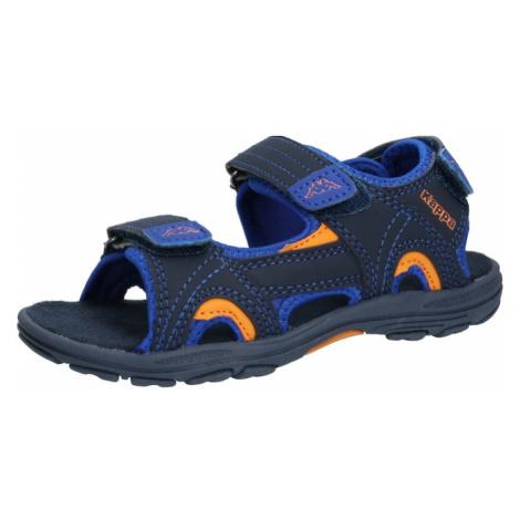 KAPPA Otvorená obuv 'EARLY II'  oranžová / námornícka modrá