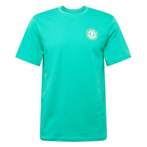 ELEMENT Funkčné tričko  tyrkysová / biela