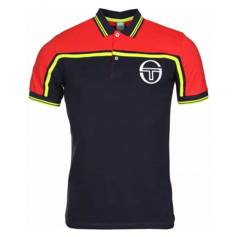 Varus pánské triko barva: modrá;velikost oblečení: L Sergio Tacchini