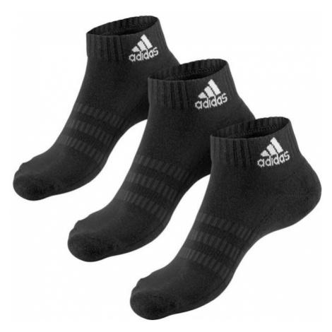 ADIDAS PERFORMANCE Športové ponožky  čierna / biela