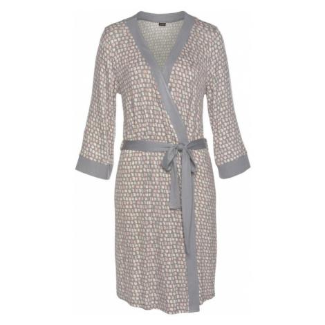 LASCANA Kimono  sivá / béžová