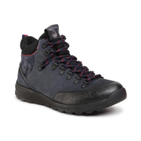 Šnurovacia obuv GO SOFT MI07-A976-A805-07 Prírodná koža(useň) - Nubuk