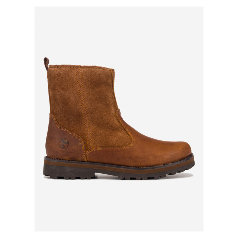 Kotníková obuv dětská Timberland Hnedá