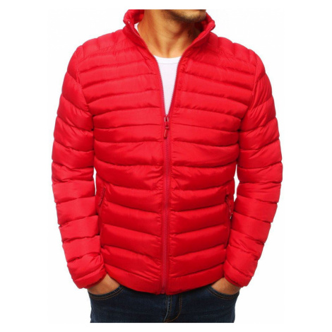 Trendy červená pánska bunda tx2856