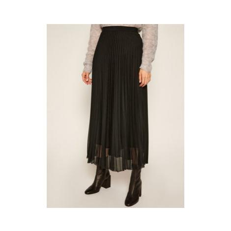Marella Plisovaná sukňa Brama 37760109 Čierna Regular Fit