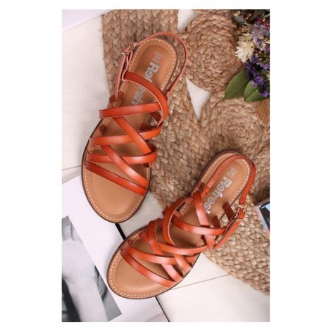 Škoricové sandále 72231 Refresh