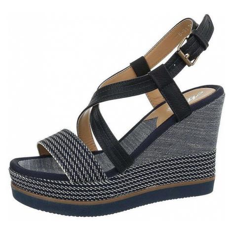 Dámske pohodlné sandále na kline