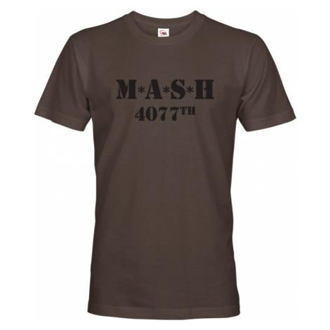 Tričko s potlačou legendárneho seriálu MASH 4077 2