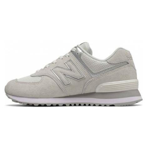 New Balance WL574EX šedá - Dámska obuv na voľný čas
