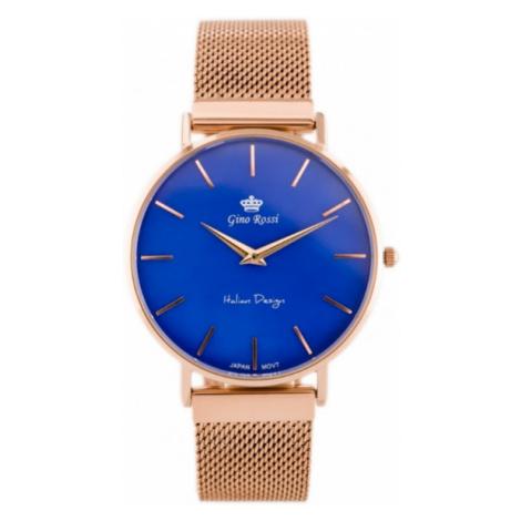 Dámske hodinky s výrazným ciferníkom Gino Rossi 11014B1-6F3